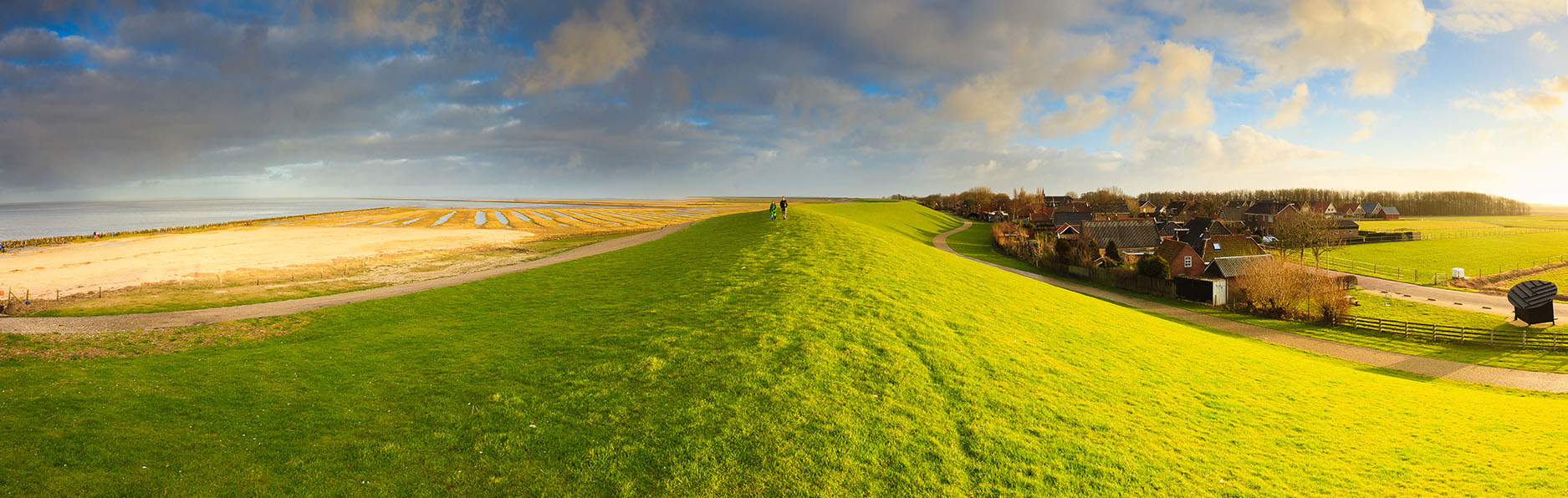 De Waddendijk – boeiende barrière tussen zee en kust